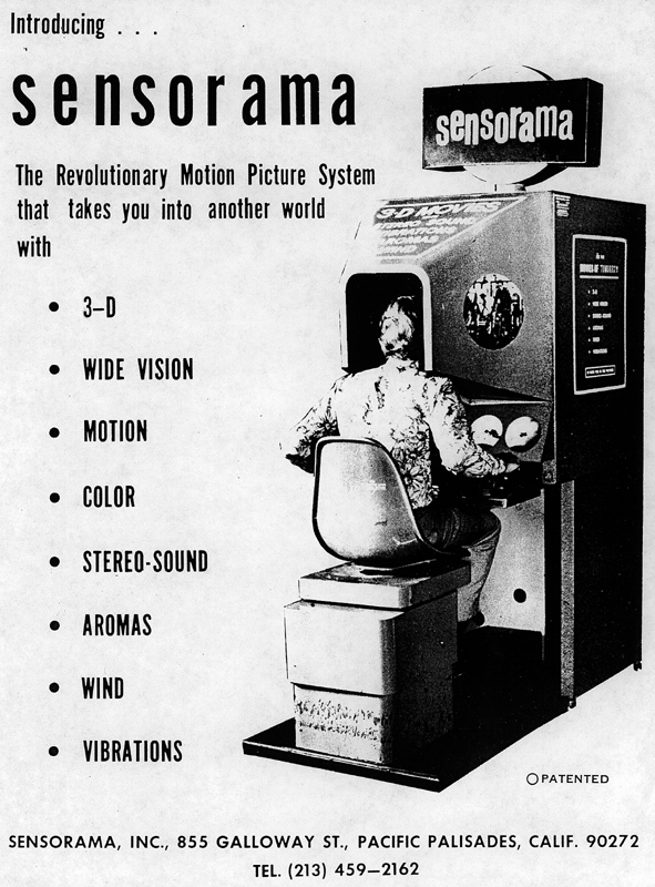 Sensorama Machine Ad